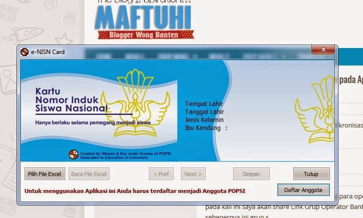 Download Aplikasi e-NISN Card Terbaru