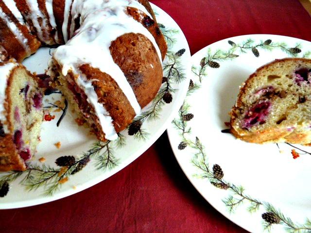 ... of Two Loves: Cranberry Orange Walnut Coffee Cake with Greek Yogurt
