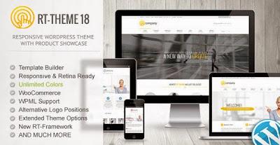RT-Theme 18 Responsive Wordpress Theme Download Free [Current Version 1.8]