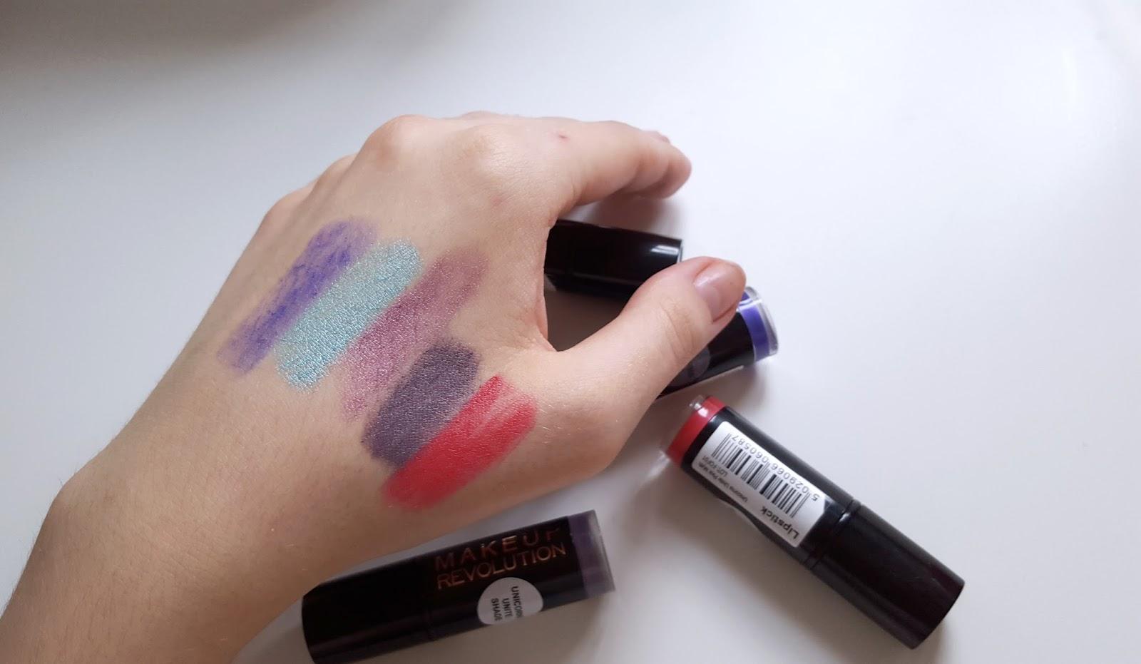 Makeup Revolution Unicorns Unite Lipstick