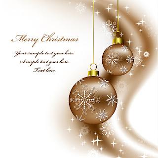 美しいクリスマス ボールの背景 christmas  decorative balls background イラスト素材3