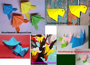 kumpulan cara membuat origami untuk anak TK kecil besar dan SD kelas 1 2 3 4 5 6 dan pemula