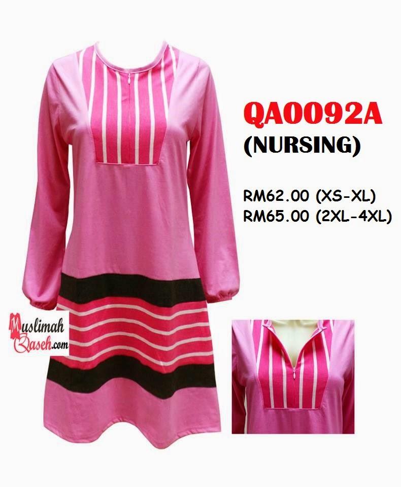 T-Shirt-Muslimah-Qaseh-QA0092A