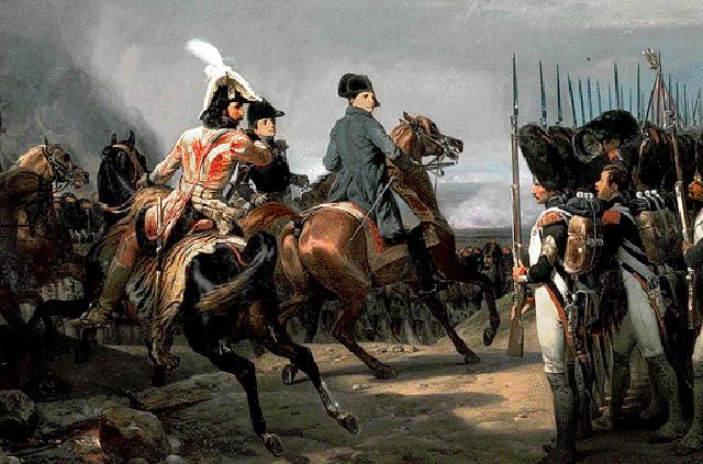 Наполеон в битве при Йене