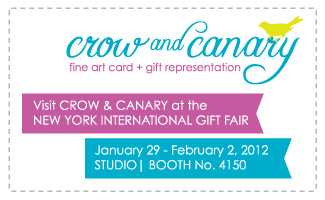 Crow and canary viva new york international gift fair for New york international gift fair