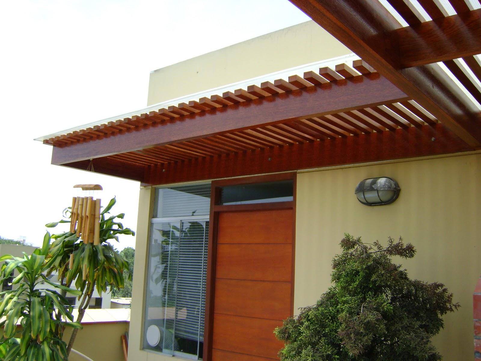 Techos sol y sombra y techo para interiores arte y for Modelos de gibson para techos