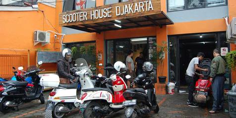 Scooter House Djakarta Tawarkan Servis dan Aksesori Vespa Lawas
