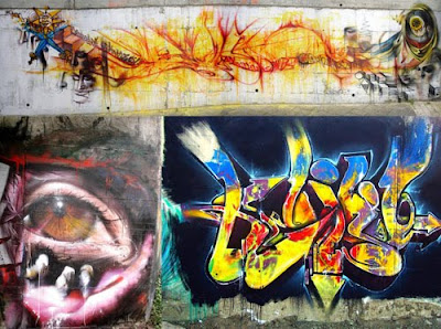 Graffiti Walls, Graffiti Design