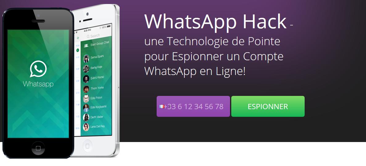 comment espionner un whatsapp a distance