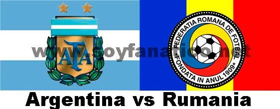 Amistoso Seleccion Argentina vs Rumania 2014