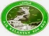 Jawatan Kerja Kosong Air Kelantan Sdn Bhd logo www.ohjob.info