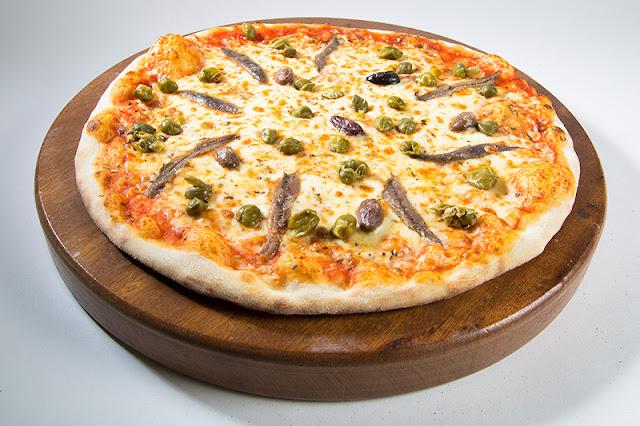 Recette Pizza Au Anchois et Aux Câpres