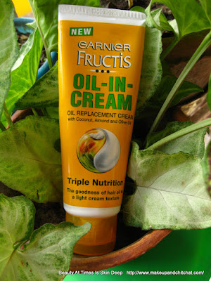 Garnier Fructis Oil-in-Cream leave-in conditioner