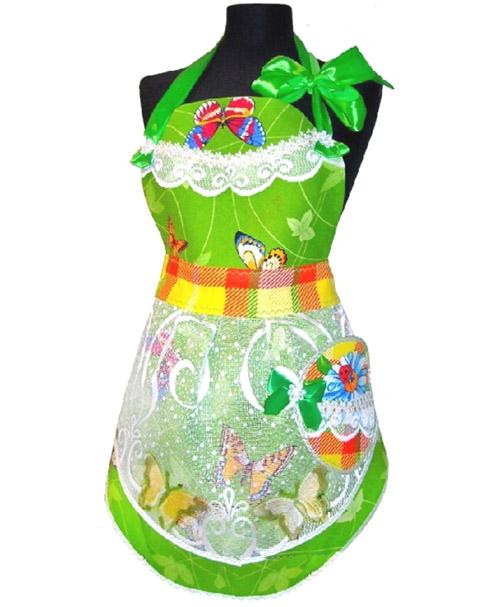 Нарядный фартук.  Bright apron