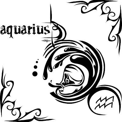acuario tatuaje