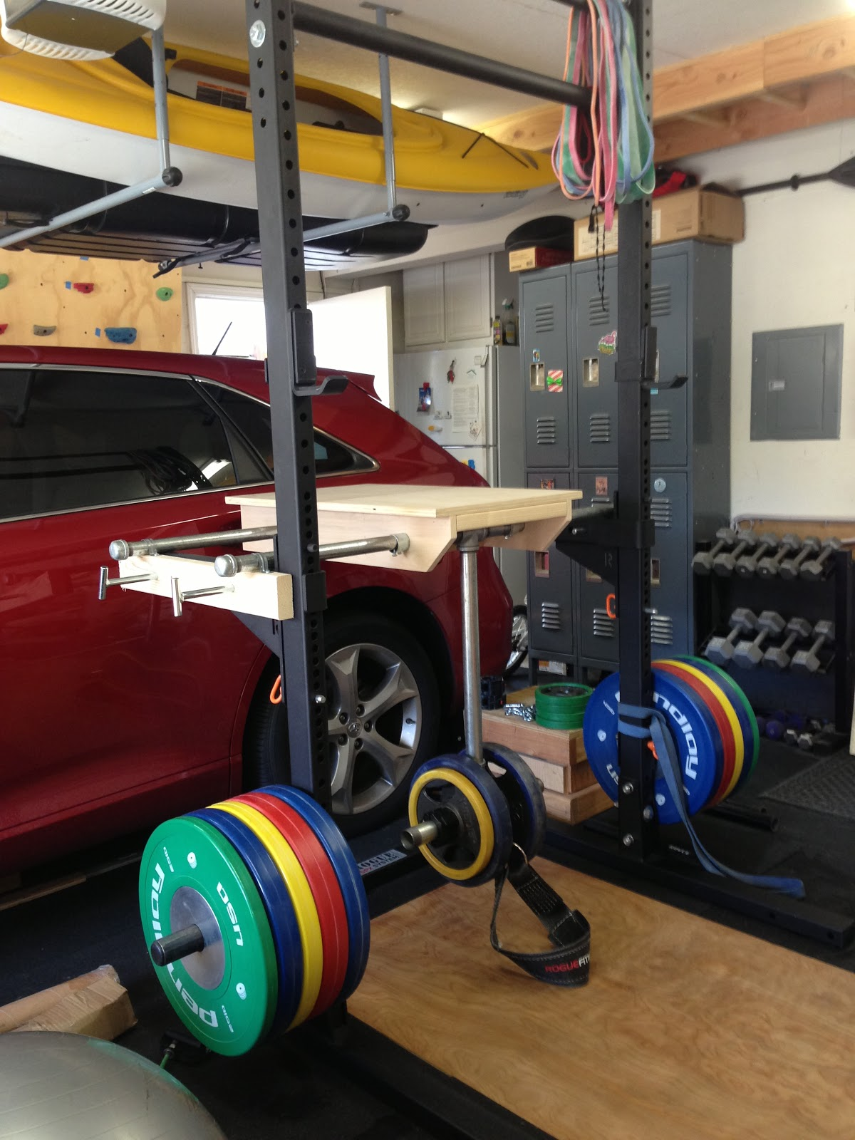 Rogue s rack squat stand weight training