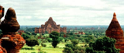 Bagan Myanmar Pagoda and Temple City