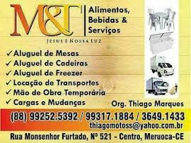M&T ALIMENTOS, BEBIDAS & SERVIÇOS
