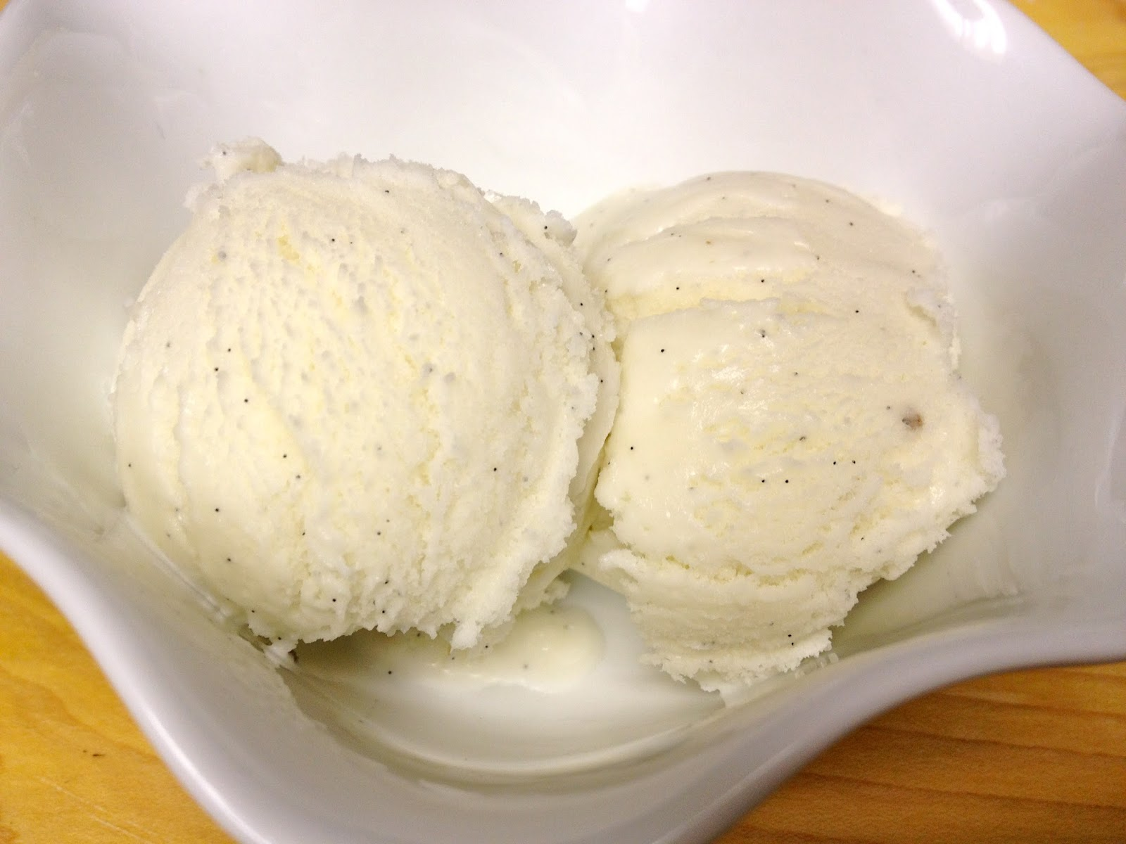 Foodie Journey: Vanilla Bean Ice Cream