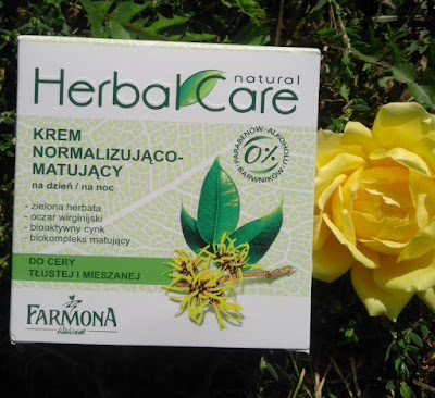 Krem normalizująco-matujący Herbal Care Natural Farmona