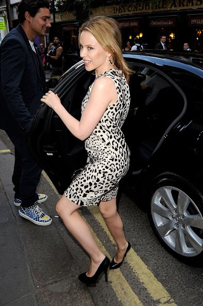 Kylie Minogue insured her derriere for $ 5 million