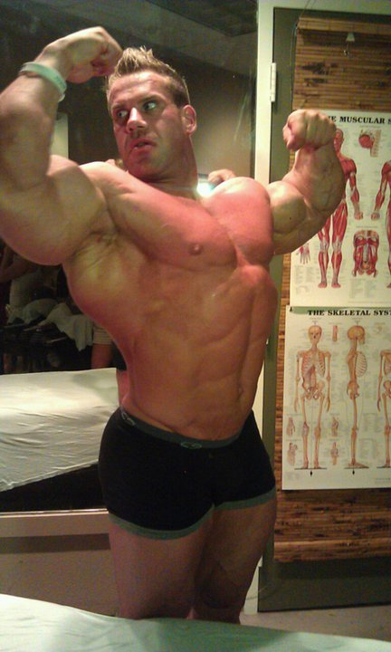 Bodybuilder Health: Jay Cutler: Four Weeks Out