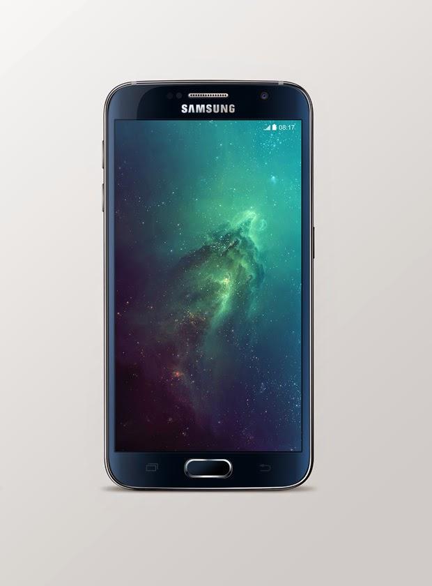 Samsung Galaxy S6 Mock-Up PSD