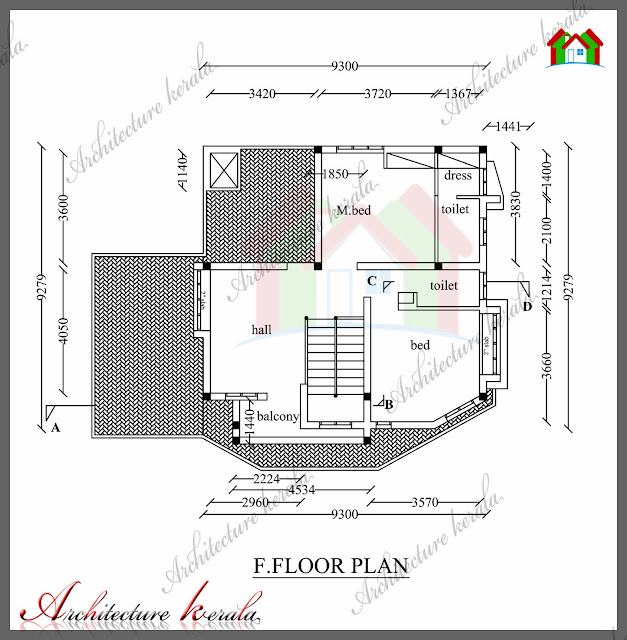 1800 Sq Ft House Plan With Detail Dimensions