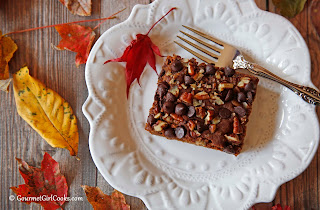 almond-flour-pecan-cake
