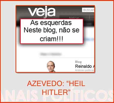 Reinaldo Azevedo, para quem não conhece, é um senhor de certa idade ...
