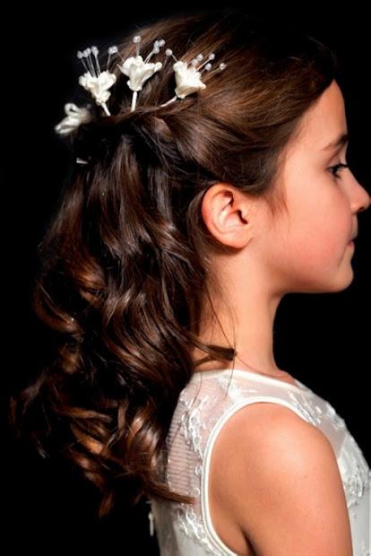 bast hair flower girl hairstyles