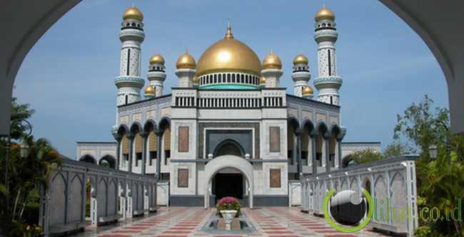 Masjid Hassanal Bolkiah - Brunei Darusallam