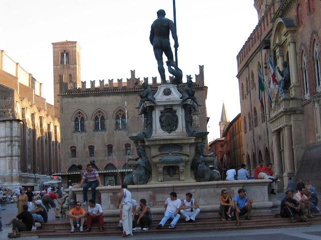 Fontana di Nettuno, Bologna, İtalya