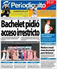 PRIMERA PAGGINA DE EL PERIODIQUITO DE MARACAY