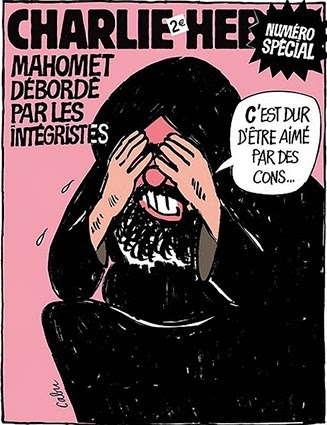 Charlie Hebdo cover, 2006.