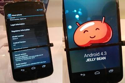 Encontramos en Pocket Now, unas imágenes de lo que se supone es esta actualización han aparecido en Internet, unas que no solo muestran detalles bastante gráficos de la mejora de Android, sino que esto se hace en un Nexus 4, uno de los smartphones con Android más populares por parte de Google en colaboración con LG. Lo que se ha podido ver en las imágenes filtradas es, además de algunos detalles en cuanto a la interfaz y los extras visuales que siempre vemos en Android Jelly Bean, la interfaz gráfica de la cámara del dispositivo, una que cambia bastante al
