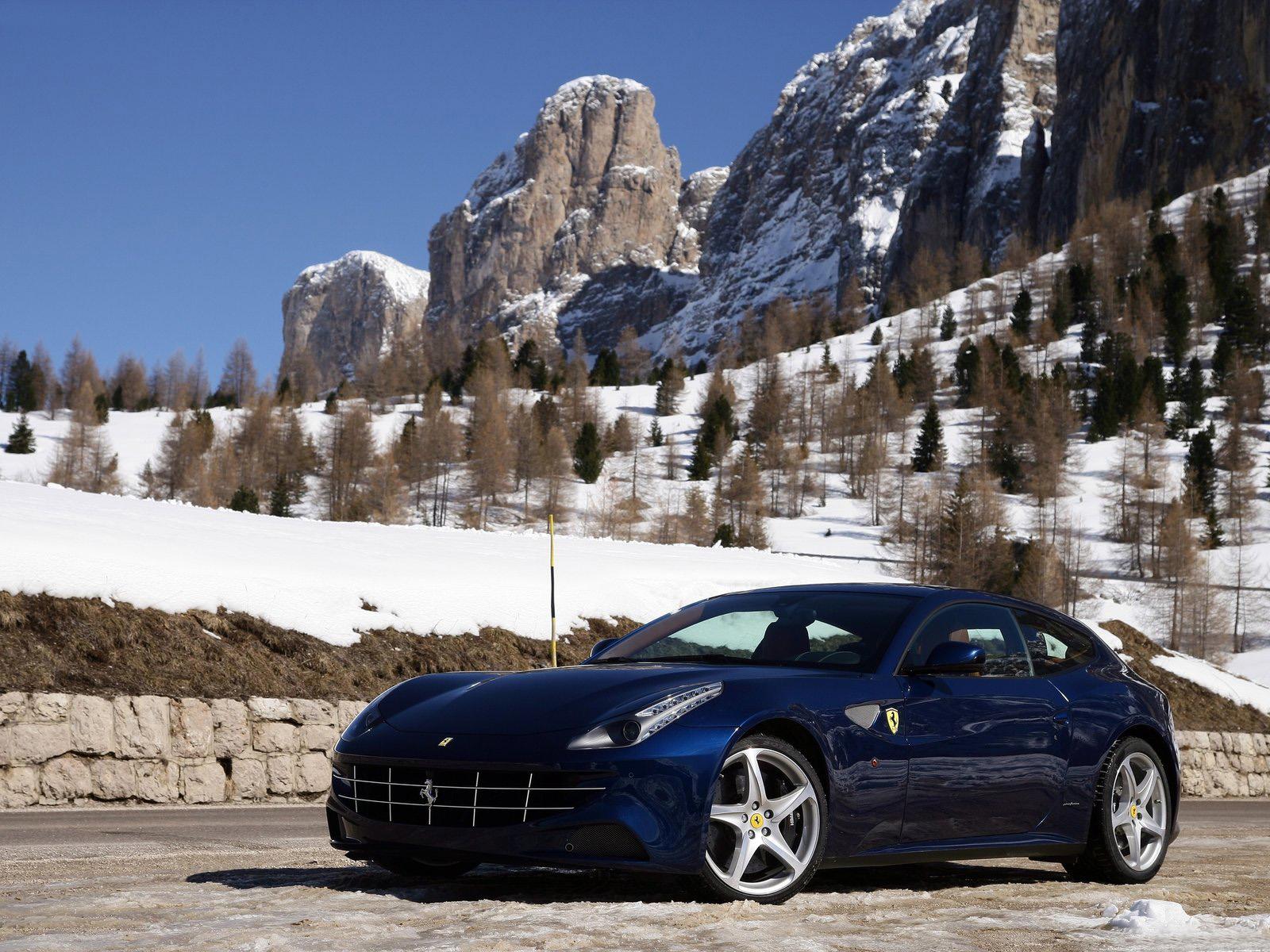 Blue Ferrari Ff >> Car Pictures: Ferrari FF 2012 Blue