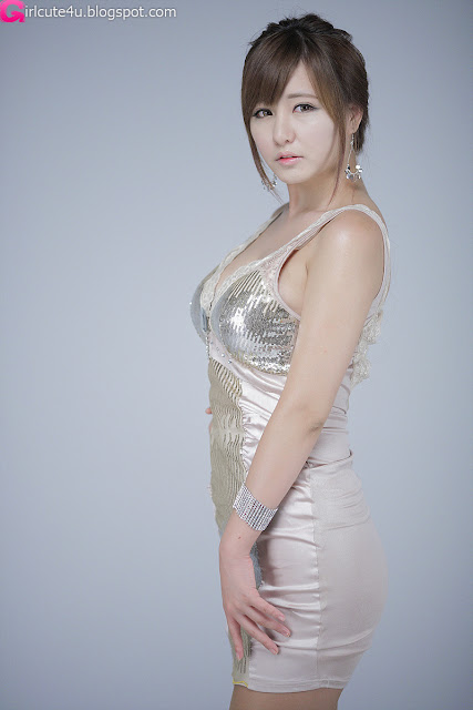 Ryu-Ji-Hye-V-Neck-Sequin-Dress-10-very cute asian girl-girlcute4u.blogspot.com
