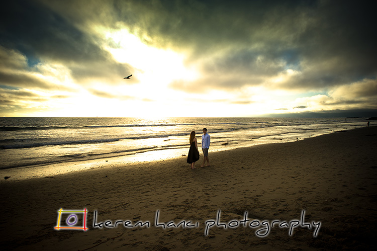 Sunset on Venice Beach, Engagement Session