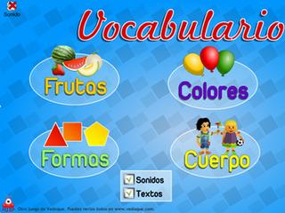 http://www.vedoque.com/juegos/juego.php?j=vocabulario&l=es