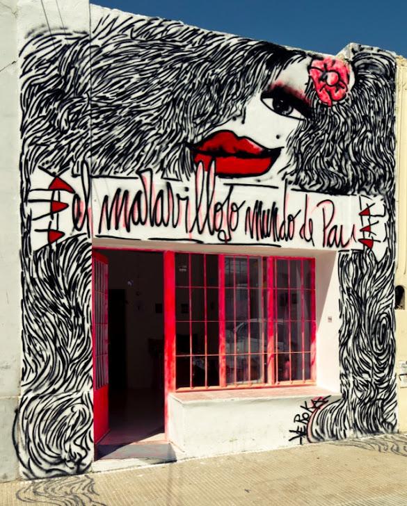 Graffiti en El Maravilloso Mundo de Pau