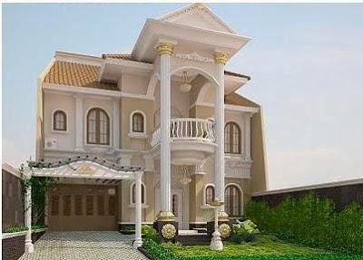 Model Rumah Mewah Klasik 2014