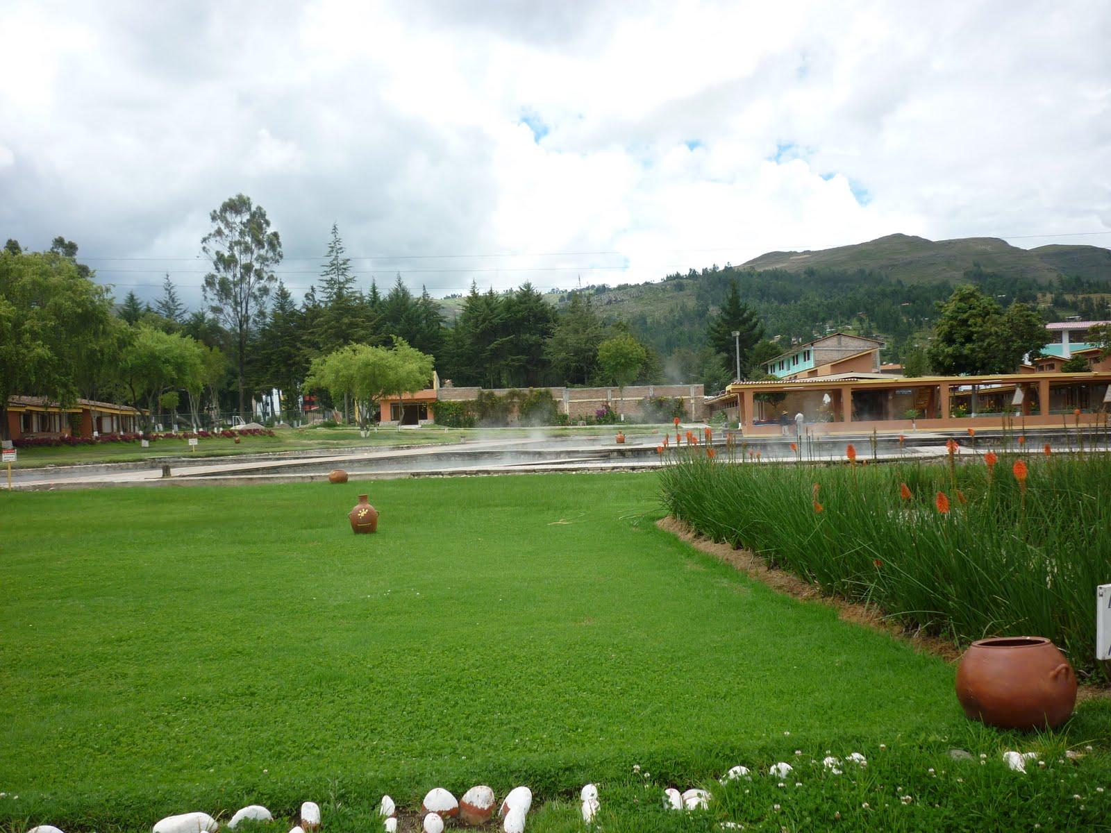 Imagenes De Baños Del Inca:Imagenes Cajamarca: Complejo turístico Baños del Inca