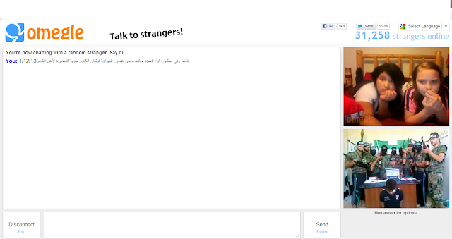 how to talk to only girls on omegle