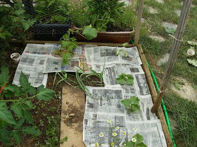 how to build a garden barrier