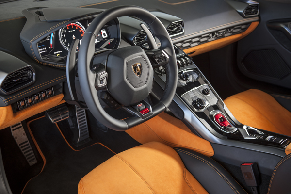 The Huracán Features Various Interior Options For More Comfort Inside The  Car. It Features A Choice For Full Electric Control And Heating Of The Sport  Seats ...