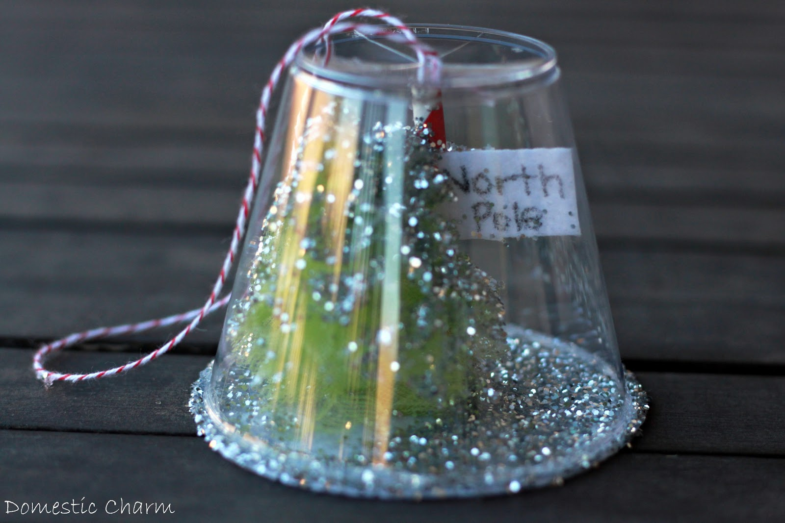 Domestic Charm: Homemade Christmas Ornament