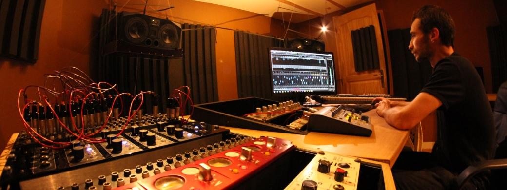 Le studio d'enregistrement Medusa Prod à Marseille