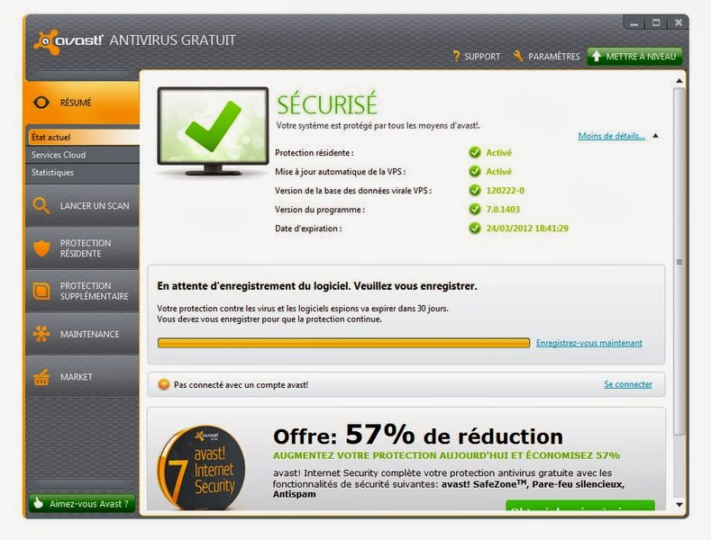 Avast antivirus gratuit 8 0 cracked keygen key windows - Open office windows 7 gratuit francais ...