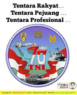 Selamat HUT TNI ke-70